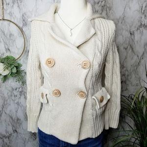 J.Crew Black Label Cardigan Sweater